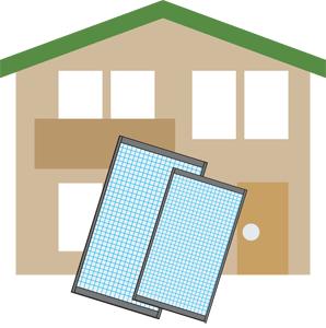 戸建の網戸修理と交換