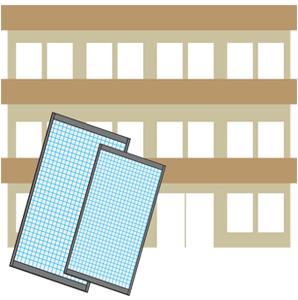 マンションの網戸張替えの網戸張替えの網戸修理と交換