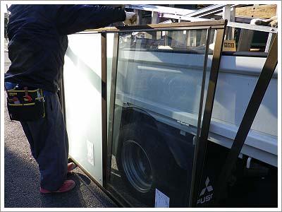 真空ガラススペーシアの施工例1